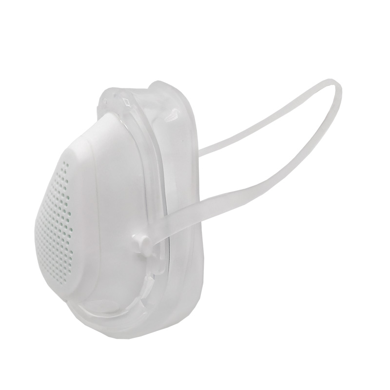 Adult HS8 kn95 silicone protective mask can be cleaned and reused for filtering PM2.5 covid virus dust